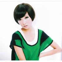 Wholesale Customed Black Short Girl Real Looking Asian Hair Wigs from china suppliers