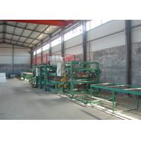 Wholesale Steel EPS Sandwich Panel Roll Forming Machine 0.286mm  - 0.6mm Thickness from china suppliers