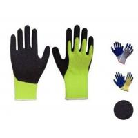 Wholesale Latex thumb coated gloves,10G high grade T/C liner,crinkle finsh,anti-acid/alkali from china suppliers