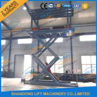 Buy cheap 5T 5.36M Double Platform Scissor Car Lift for Villa In-ground Car Lift for House from wholesalers
