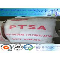 Wholesale CAS 104-15-4 Para Toluene Sulphonic Acid White Crystalline Powder C7H8O3S from china suppliers