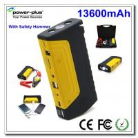Quality 13600Mah Gasoline Portable Car Jump Starter , Mini Jump Starter With Air Pump for sale
