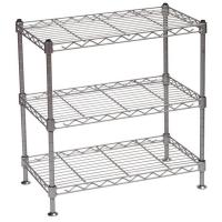 Wholesale Kitchen Wire Rack/Portable Metal Steel Wire Display Stands Five Tier For Food / Beverage from china suppliers