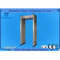 Wholesale 12/18 Zone Walk Through Full Body Metal Detector Door Security Devices With 4.3 Inch LCD from china suppliers