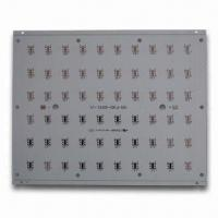 Wholesale Aluminum PCB Assembly, Control Board with Blue Solder Mask and HAL Lead-free Surface Finish from china suppliers