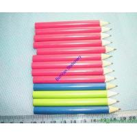 Wholesale personalized yellow colored pencils drawing HB natural wooden color drawing pencil from china suppliers