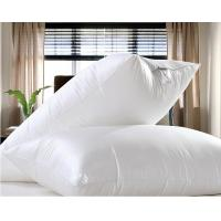 Wholesale 90% Duck Goose Feather Pillows Cotton Percale Pillow Insert Customized from china suppliers