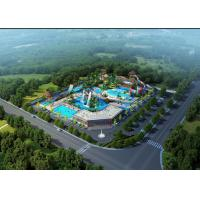 Wholesale Outdoor Aqua Playground Water Park Conceptual WIth Fiberglass from china suppliers