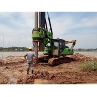 Quality KR150C Hydraulic Piling Rig , 52m Max Drilling Depth Bored Piles Machine for sale