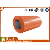 Wholesale Orange Green Offering Prime Color Coated Steel Coil With Polyester / PE Coating from china suppliers