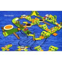 China Big inflatable water park equipment, giant inflatable water park games for adult on sale