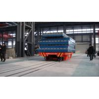 Wholesale Workshop cargo carriage rail Motorized Transfer Trolley 25 ton wireless remold from china suppliers