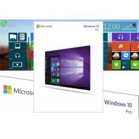 Wholesale 100% Genuine microsoft windows 10 pro 32 64 bit USB Retail Version from china suppliers