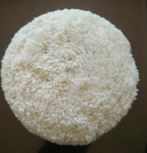 Wholesale Australian lambskin wool bonnet/car wool polishing pad/wool buffing pad from china suppliers