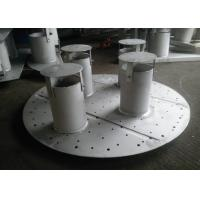 Wholesale Pan / Plate Type Column Internals Customized Size For Basic Chemical Column from china suppliers