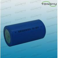 Wholesale 3.6V LiSOCL2 Lithium Primary Battery, ER26500 Lithium Thionyl Chloride Battery from china suppliers