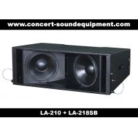 Concert Sound Equipment / 580W Line Array Speaker With1.4+2x10 Neodymium Drivers