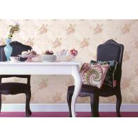 Wholesale Eco - Friendly Strippable Flower Pattern Wallpaper 0.53*9.5M For Home Decoration from china suppliers