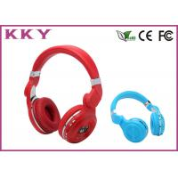 Wholesale Red / Blue Splendid Apple IPhone On Ear Bluetooth Headset For Music Lover from china suppliers