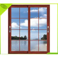 Wholesale Interior Aluminum Sliding Double Tempered Glass Window from china suppliers