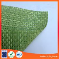 Wholesale light green color Textilene material mesh fabric 4X4 woven Textoline from china suppliers