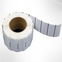 Wholesale White Woven Clothing Sew EAS Hard Tag ,  58KHz AM Label Roll from china suppliers