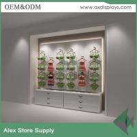 Wholesale Women clothes display showcase wood display clothes shop furniture design MDF China supplier from china suppliers