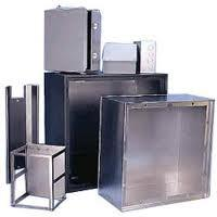 Wholesale High precision durability sheet metal cabinet weatherproof  , large metal cabinets from china suppliers