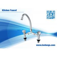 Wholesale Deck Mounted Handle Basin Faucet  ,Two Handle Kitchen Faucet from china suppliers