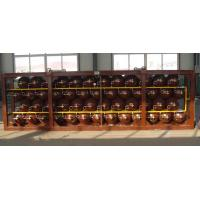 Quality ISO9809 20' Container Compressed Natural Gas Cylinders 80L OD279mm for sale