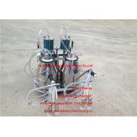 Wholesale Dairy Cows Mobile Milking Machine Piston Pump Type 750w Power from china suppliers