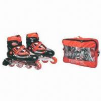 Wholesale Inline Skate Shoes with High Rebound PU, Suitable for Children's from china suppliers