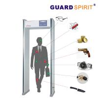 Wholesale 6 Zones Alarm Walk Through Gate Metal Detector Door Frame For Playground Inspection from china suppliers