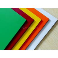 Wholesale Anti - Static aluminum composite metal panels , colored aluminum sheet for  Roof & house eave from china suppliers