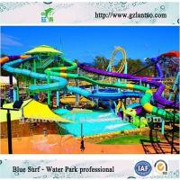 Wholesale Custom Aqua Park Equipment Kids Water Amusement Park With Different Water Slide from china suppliers