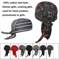 Wholesale Popular cotton hat, kitchen hat from china suppliers