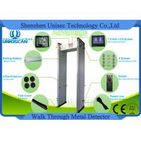 Wholesale 0-999 High Sensitivity Walk Thru Metal Detectors With 4-8 Hours Backup Battery from china suppliers