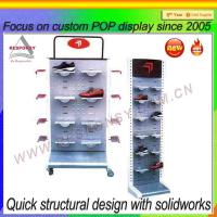 Wholesale Hot Sale Retail Store/Supermarket Shoe Display Rack from china suppliers
