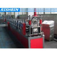 Wholesale Aluminum Mobile Seamless Gutter Forming Machine With Urethane Power Drive System from china suppliers