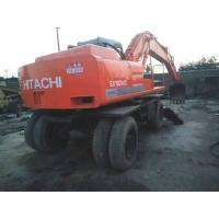 Wholesale used hitachi excavator ex160wd  japan  wheel excavator for sale EX100WD-2 from china suppliers