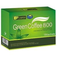 Quality Leptin Green Coffee 800 Herbal Slimming Coffee Antioxidant For Fat Burning for sale