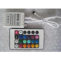 Wholesale 24 keys 24V Three Circuit RGB LED Lighting Controllers , LED Group Controller from china suppliers