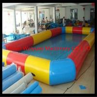 Wholesale high quality 8*8m Customzied PVC0.9  wholesale square inflatable pool,colorful inflatable swimming pool from china suppliers