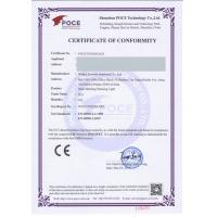 WUHAN JACKWIN INDUSTRIAL CO., LTD. Certifications