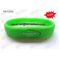 Wholesale Silicone Bracelet USB Flash Drives, 100% New and Original Memory Chip DR-FS092 from china suppliers