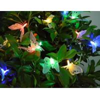 Wholesale Solar Fiber Optic Butterfly Outdoor Garden Patio String Lights Christmas gift color changing LED from china suppliers