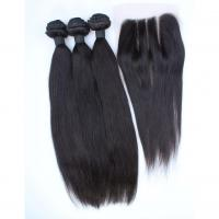 Wholesale The best hair supplier virgin hair bundles with lace closure from china suppliers