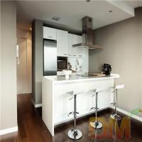 Quality High Gloss Kitchen Cabinet White Color Kitchen Cupboard for sale