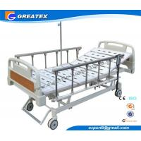 Wholesale Remote Control Mobile Handicapped Electric Hospital Bed With IV Pole Three Functions from china suppliers