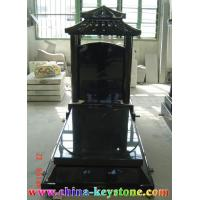Wholesale Tombstone/Shanxi Black/Granite Tombstone/Tombstone from china suppliers
